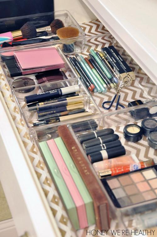 As Melhores Maneiras De Organizar A Maquiagem Divirta Se