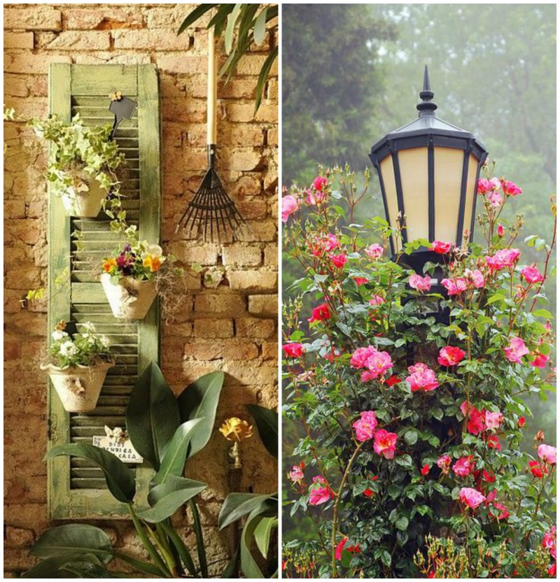 Flores na decoração {Blog Divirta-se Organizando}