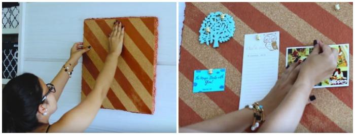 DIY mural de recados | Blog Divirta-se Organizando