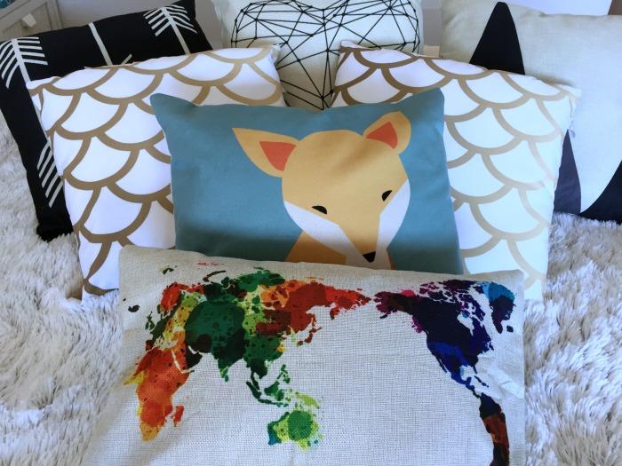 Minha cama: onde comprei, coleção de almofadas, edredons, etc. | Blog Divirta-se Organizando